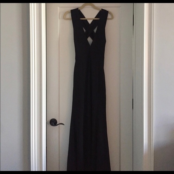 b56fdf685d1 Lulu s Dresses   Skirts - Lulus heaven and earth black maxi dress